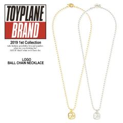TOYPLANE トイプレーン SYMBOL BALL CHAIN NECKLACE toyplane メンズ ネックレス