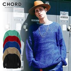 50%OFF SALE セール CHORD NUMBER EIGHT コードナンバーエイト MOHAIR KNIT chordnumbereight メンズ ニット 送料無料 ストリート