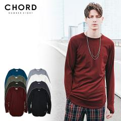 50%OFF SALE セール CHORD NUMBER EIGHT コードナンバーエイト LONG CUTSEW chordnumbereight メンズ Tシャツ ストリート