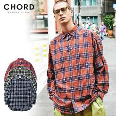 30%OFF SALE セール CHORD NUMBER EIGHT コードナンバーエイト CHECK FLANNEL SHIRT chordnumbereight メンズ シャツ 送料無料 ストリート