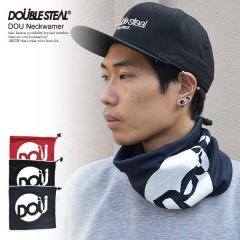 30%OFF SALE セール DOUBLE STEAL ダブルスティール DOU NECKWARMER メンズ ネックウォーマー フリース ストリート doublesteal