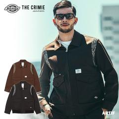 30%OFF SALE セール CRIMIE クライミー CRIMIE×Dickies A2 TYPE WORK JACKET メンズ ジャケット コラボ 送料無料 ストリート