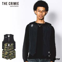 CRIMIE クライミー 3LAYER ZIP VEST LIGHT HIGH TECH THINSULATE DOWN JACKET メンズ ベスト 送料無料 ストリート