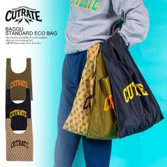CUTRATE カットレイト × BAGGU STANDARD ECO BAG cutrate メンズ バッグ トートバッグ エコバック ストリート ネコポス配送250円