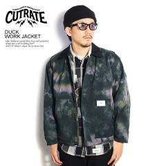 CUTRATE カットレイト DUCK WORK JACKET cutrate メンズ ジャケット フライトジャケット 送料無料 ストリート
