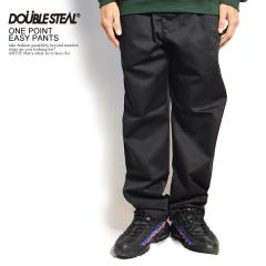 DOUBLE STEAL ダブルスティール ONE POINT EASY PANTS メンズ パンツ イージーパンツ ストリート 送料無料 doublesteal
