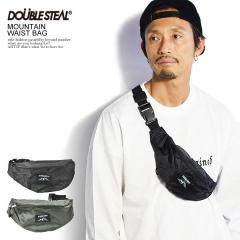DOUBLE STEAL ダブルスティール MOUNTAIN WAIST BAG メンズ ウエストバッグ ボディバッグ カバン ストリート doublesteal