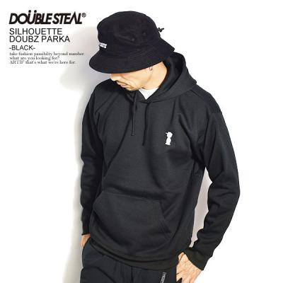 DOUBLE STEAL ダブルスティール SILHOUETTE DOUBZ PARKA -WHITE- メンズ パーカー パーカ スウェット 送料無料 ストリート